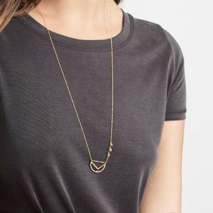 BaubleBar Slingshot Pendant Necklace